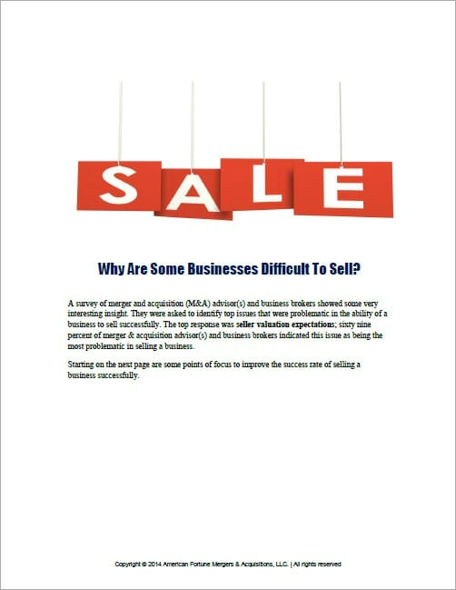 How To Double The Success Rate Of Selling A Business